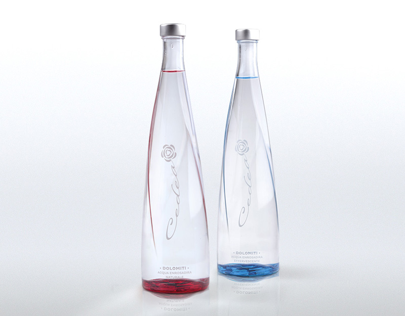 cedea luxury mineral water bottle