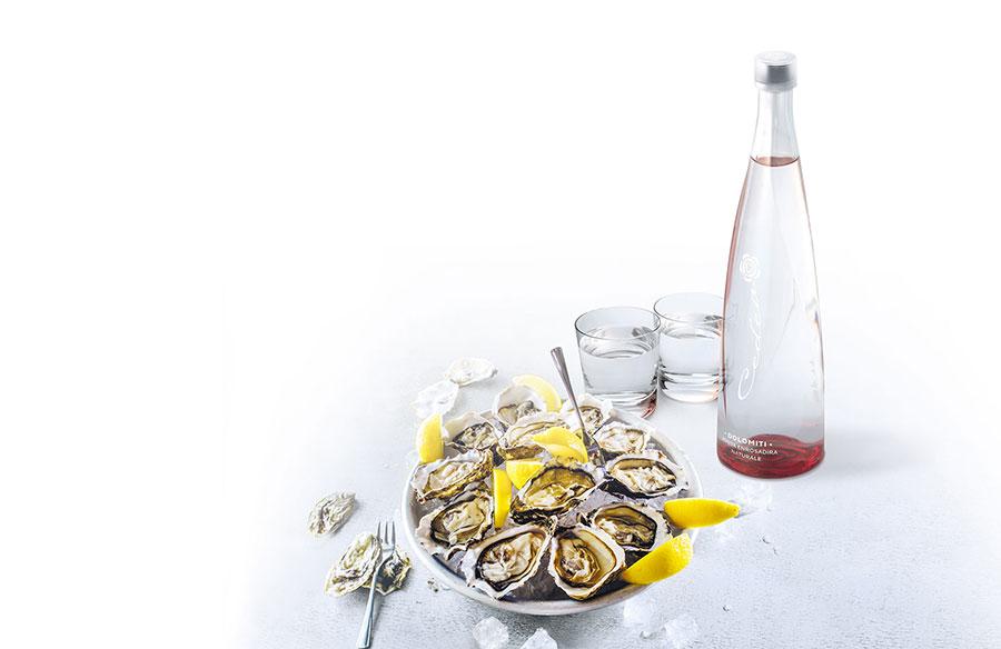 Cedea luxury mineral water bottle