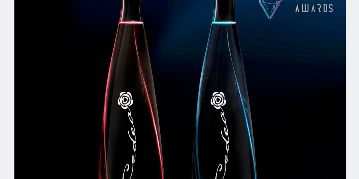 cedea luxury mineral water winner prize award design of the year 2019