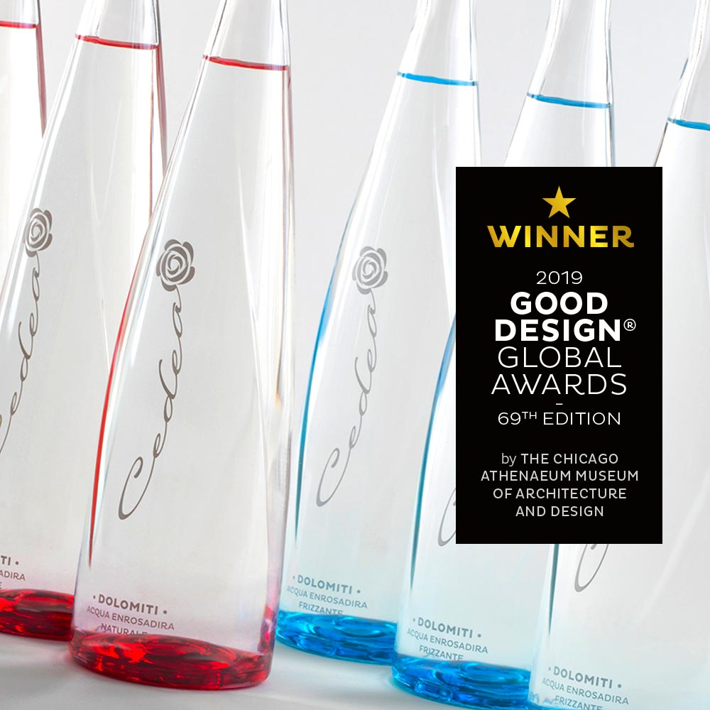 Cedea mineral water GOOD DESIGN Award