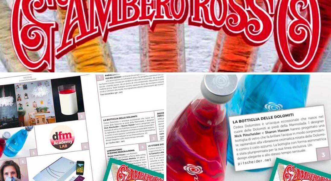 Gambero Rosso acqua minerale Cedea