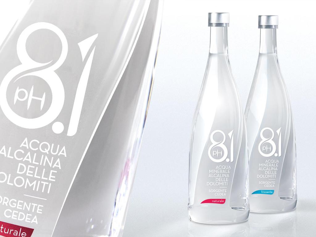 Cedea alkaline mineral water pH 8.1