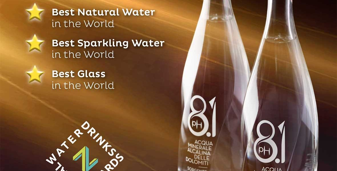 Zenith Global Awards Cedea Mineral Water winner
